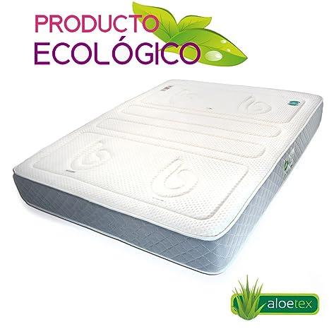 TodosDuermen Colchón Bio Ecologic - Sabicol (Firmeza Firme, 160 x 190 cm)