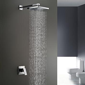 y l bathroom shower faucet set single handle solid brass rough in rh amazon com bathroom shower head kits bathroom shower heads ebay