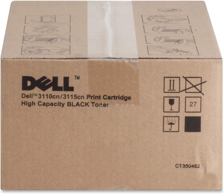 DELL BR 3110CN, 1-HI YLD Black Toner DLLPF030