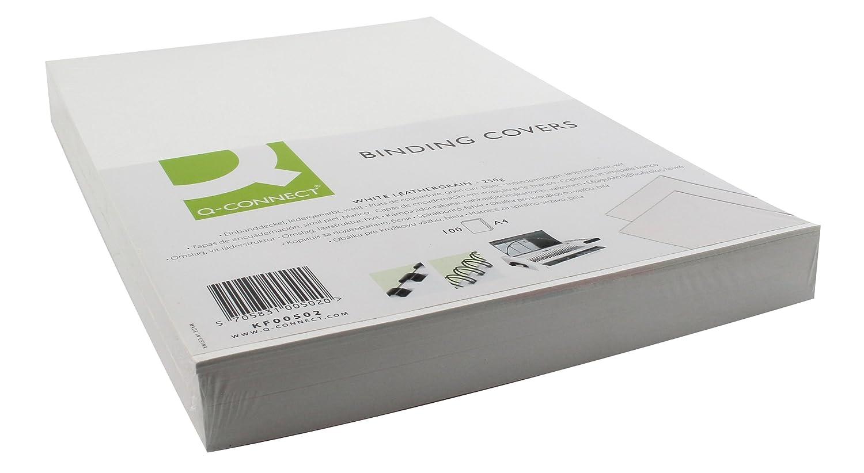 Q-Connect KF00499 Kartondeckel 250 g//qm 100 St/ück rot