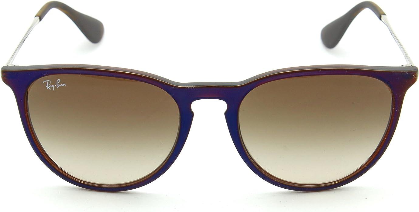 7107317f6ec Ray-Ban RB4171 ERIKA CLASSIC Womens Brown Gradient Sunglasses 631513 ...