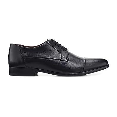 Belmondo Herren Herren Business-Schnürschuhe aus Leder, Derby-Schnürer in  Schwarz mit eleganter Sohle  Belmondo  Amazon.de  Schuhe   Handtaschen fc406fcc52