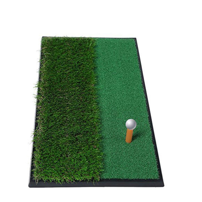 "OUTAD Golf Putting Mat 12""x24 Outdoor/Indoor Training Equipment Aid Golf Practice Mat"
