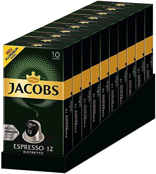Jacobs Espresso Ristretto - Nespresso®* Cápsulas de café de ...
