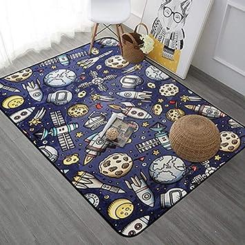Weicher Teppich Für Kinderzimmer.Amazon De Mozhiyan Teppich Cartoon Teppich Für Wohnzimmer