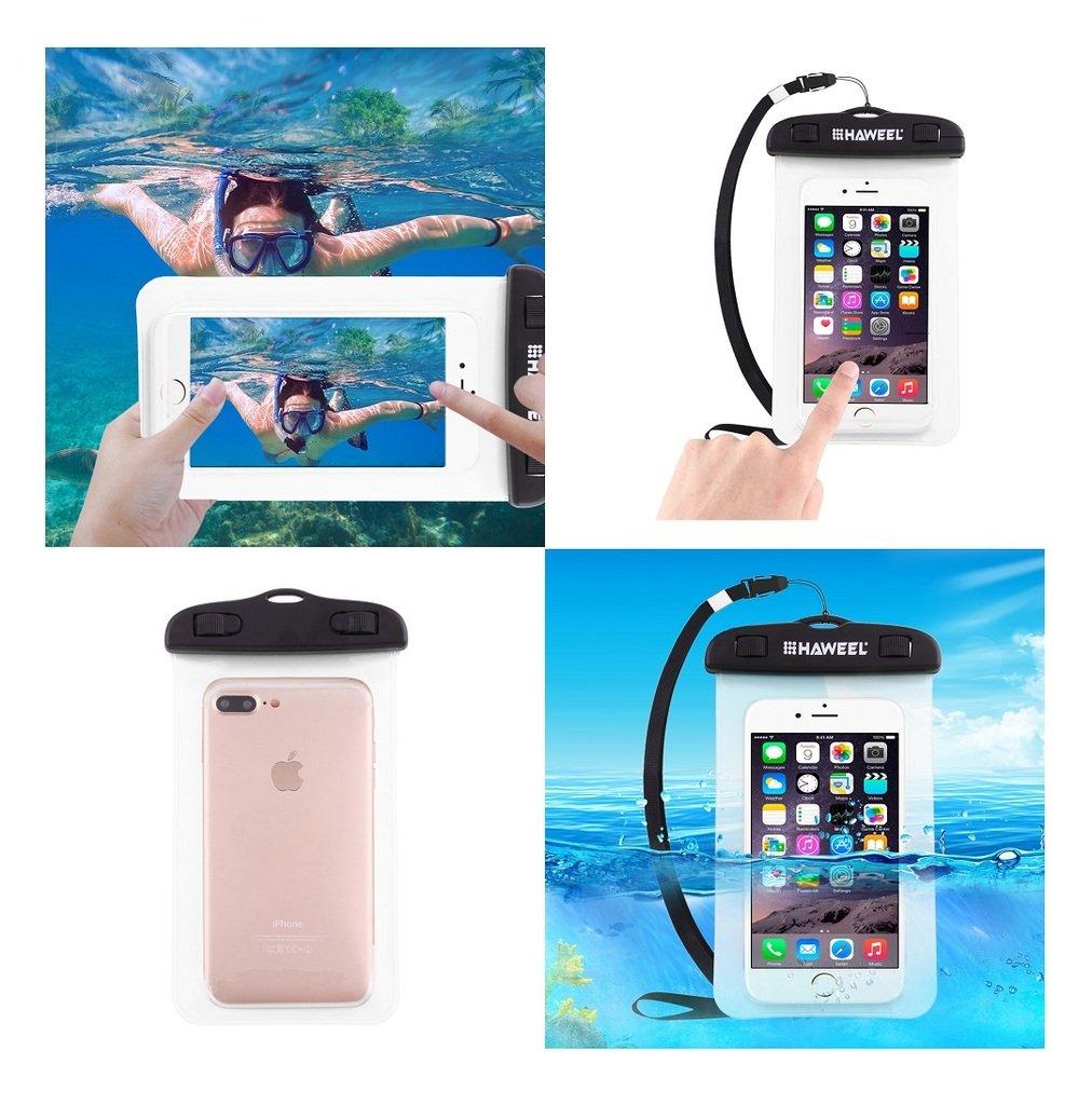 DFV mobile - Universal Protective Beach Case 30M Underwater Waterproof Bag for = KENXINDA PROOFINGS W7 Transparent