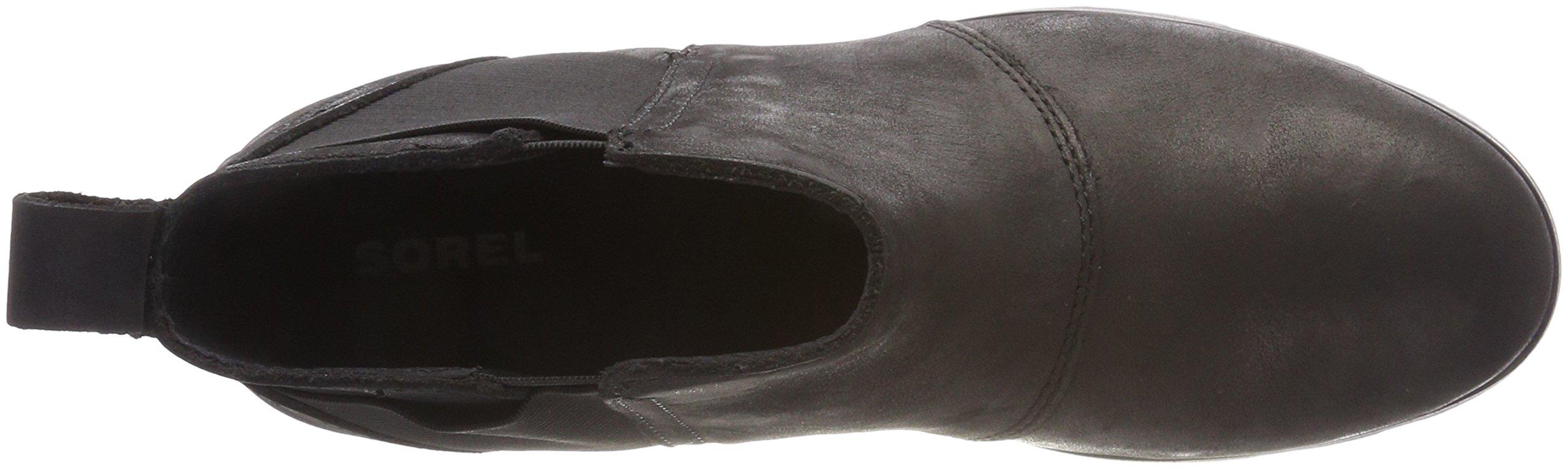 Sorel Womens Emelie Chelsea Black Boot - 8 by SOREL (Image #7)