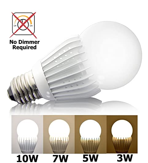 iSmartLED 4 Switchable LED Lighting Levels of 10W/7W/5W/3W (Not ...