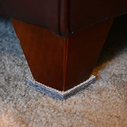 Amazon.com: DURA GRIP® Non Slip Gripper Pads STOP FURNITURE FROM SLIDING ON  CARPET   No Sticky Mess (2 Inch Round   Set Of 8): Kitchen U0026 Dining