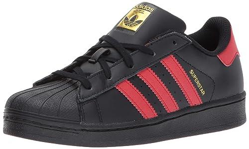 adidas C77154 - Botines de Cuero para Chico, Color Negro, Talla 18 M EU Niño Pequeño: Amazon.es: Zapatos y complementos