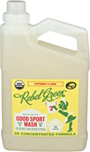 Rebel Green Laundry Sport Wash Lemon, 38 oz