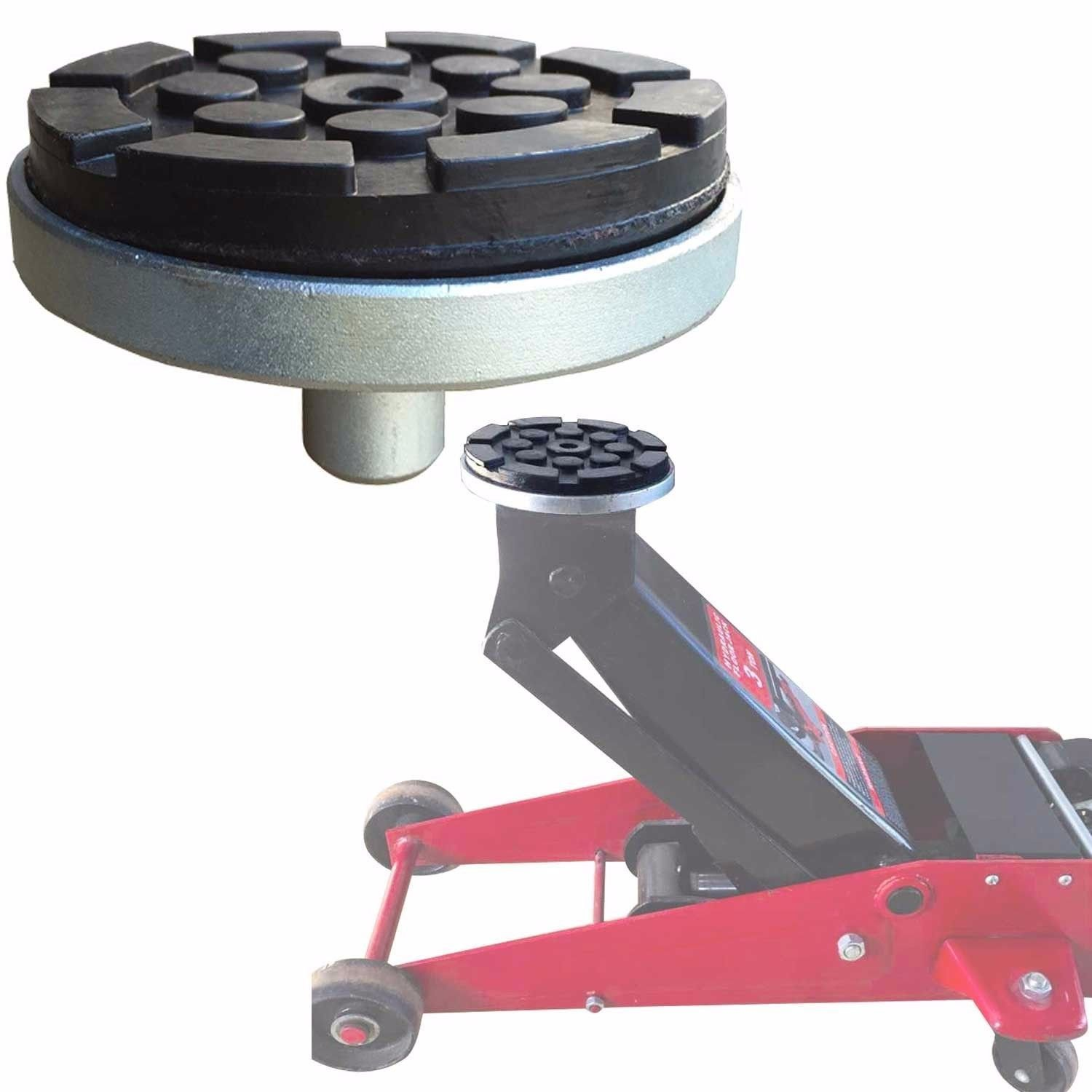 XK USA Floor Jack Adapter with Round Rubber Pod