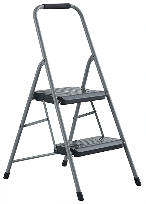 Prime Black Decker Bxl4360 02 Two Step 200 Lb Capacity Steel Stool Gray Pdpeps Interior Chair Design Pdpepsorg