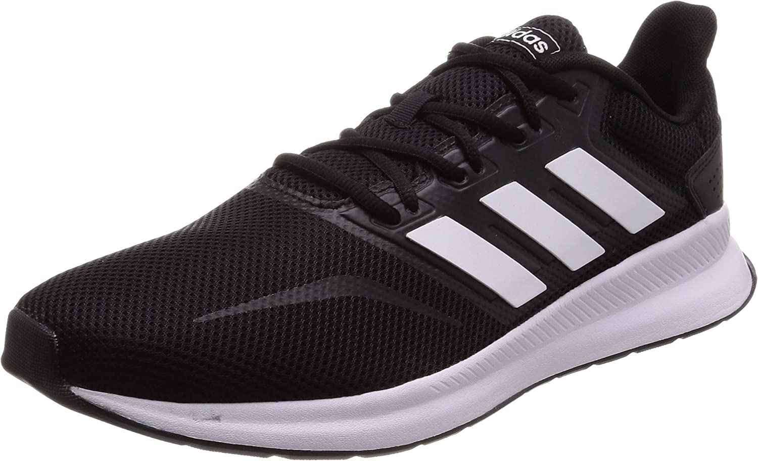 Adidas Falcon, Zapatillas de Trail Running para Hombre, Negro/Blanco (Core Black/Cloud White F36199), 43 1/3 EU: Amazon.es: Zapatos y complementos