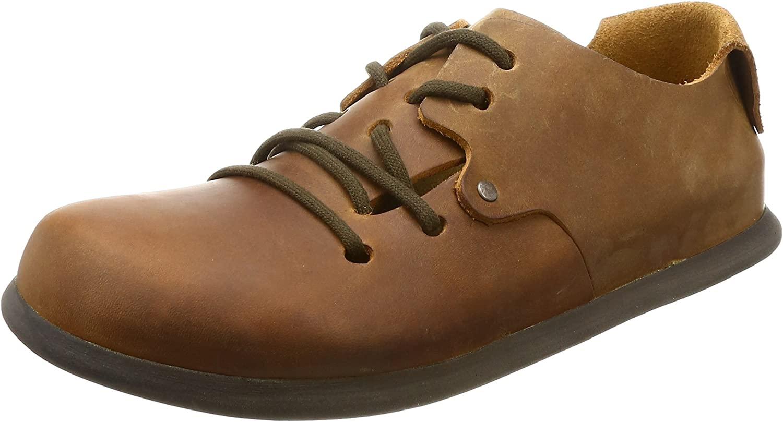 bulto extremadamente Mensurable  Birkenstock Montana Cuoio Nubuck Leather Greased: Amazon.co.uk: Shoes & Bags