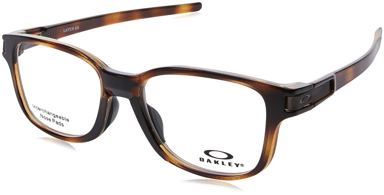 Ray-Ban Men s Latch Ss Optical Frames, Brown (Marrón), 52  Amazon.co.uk   Clothing ada0ab36c3b9