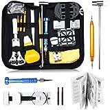 Baban 147pcs Orologi Strumenti/Guarda professionale kit Repair Tool,kit di riparazione Custodia per orologio posteriore,Dispositivo di rimozione del collegamento pin di apertura etc.