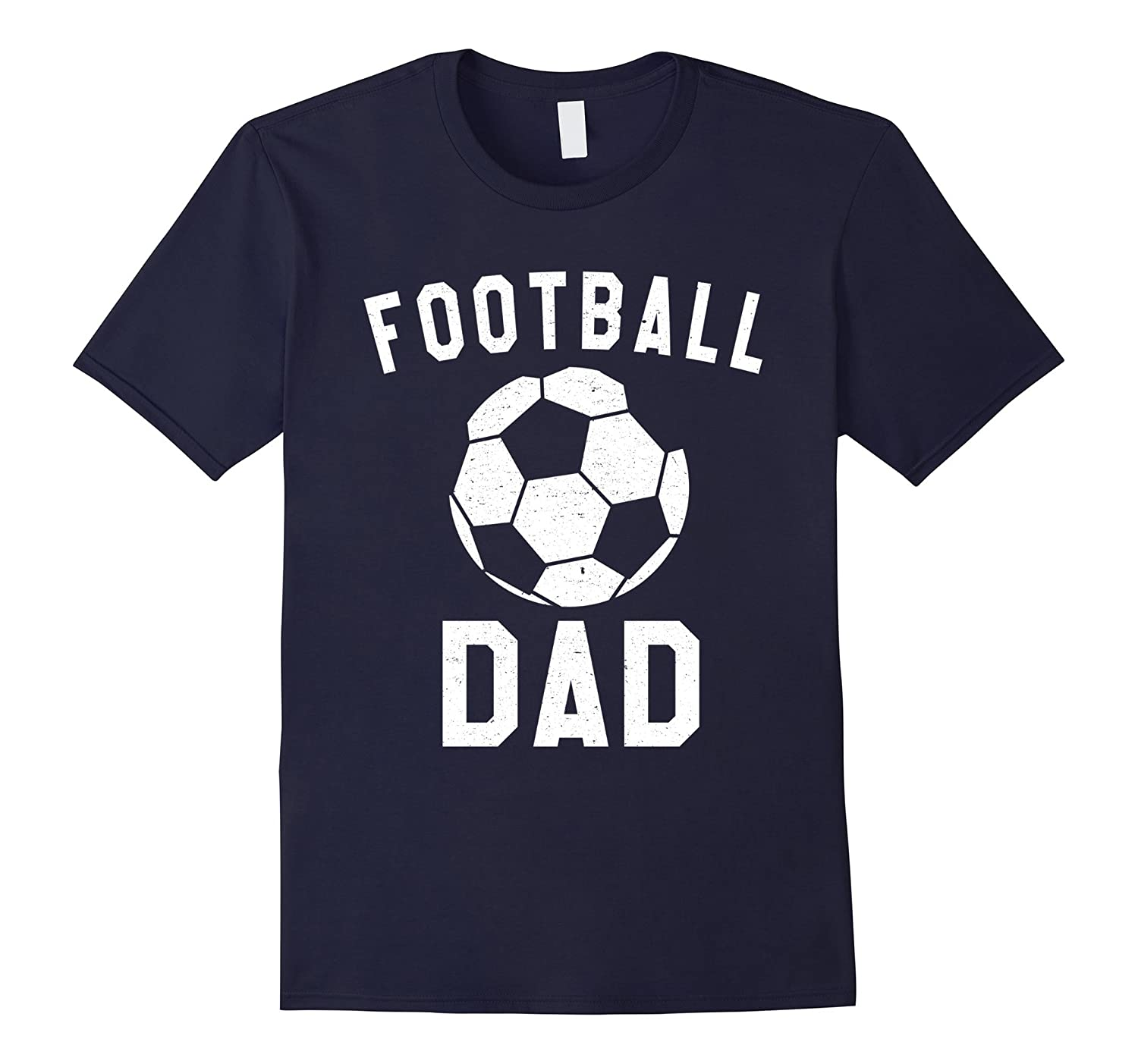 Mens Football (Soccer) Dad: Sporty Spanish Fathers Day T-Shirt
