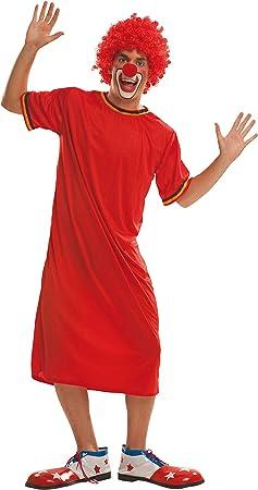 My Other Me Me-200557 Disfraz de payaso para hombre, color rojo, ML (Viving Costumes 200557)