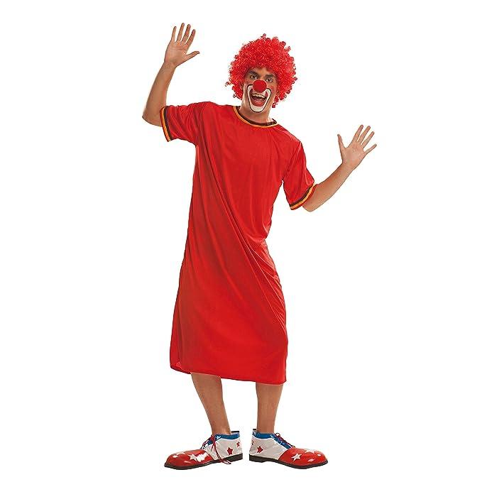 My Other Me Me-200557 Disfraz de payaso para hombre Color rojo M-L Viving Costumes 200557: Amazon.es: Juguetes y juegos