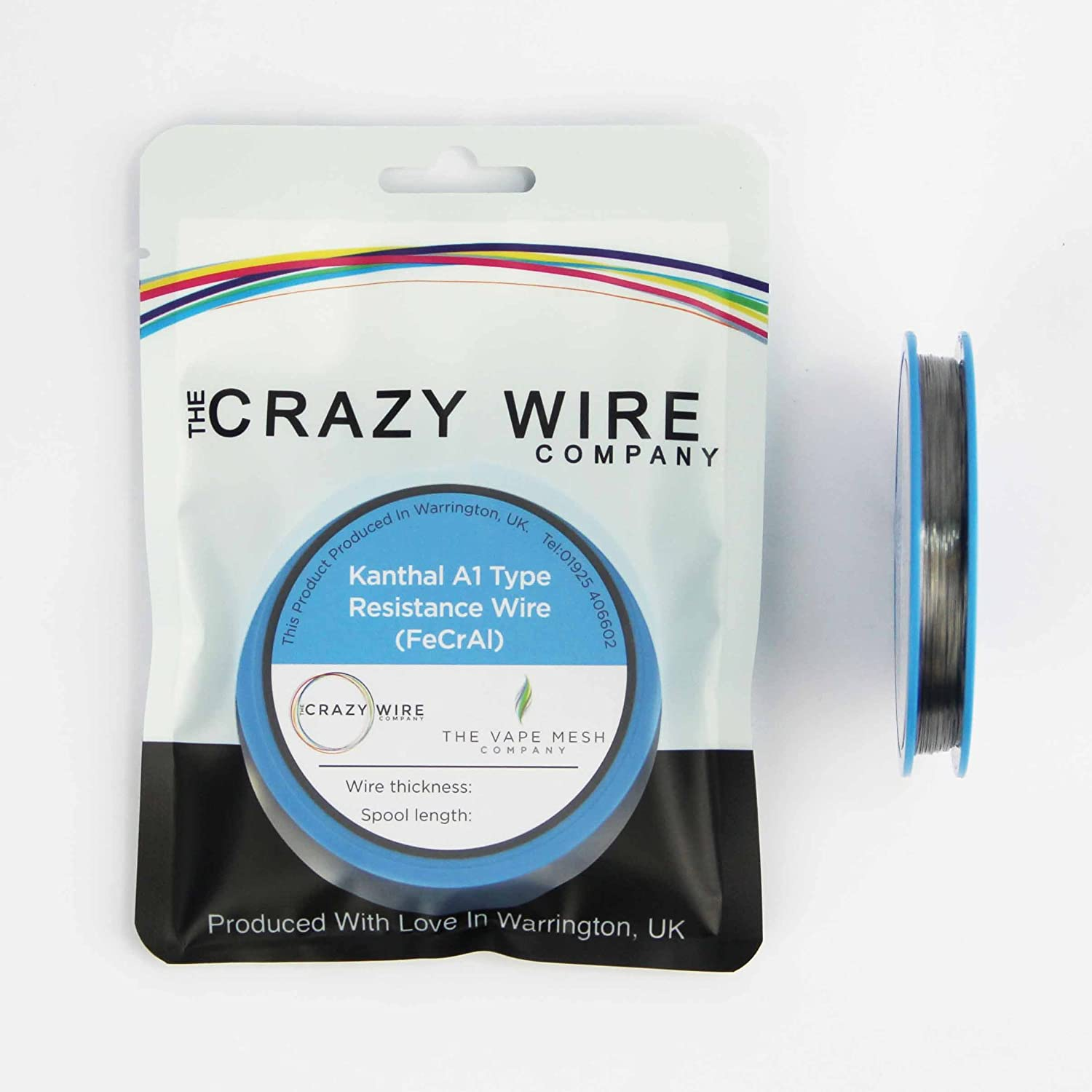 Kanthal A1 Type Resistance Wire - 0.25mm (30AWG) - 25 Metre Spool ...