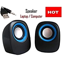 Global Craft Laptop/Computer Speaker (Colors May Vary) Model 161095