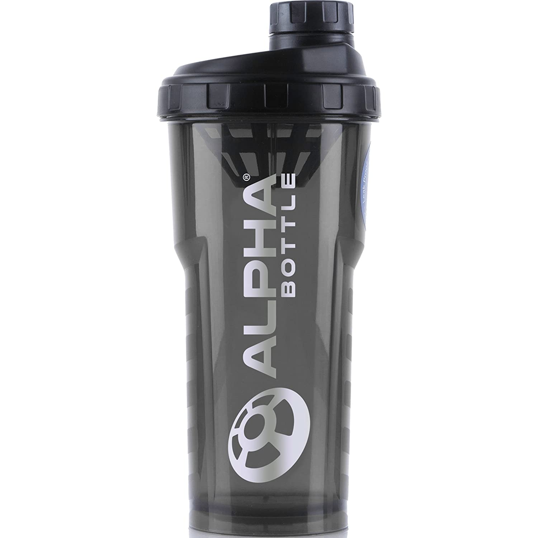 Alpha Bottle 750ml sin BPA y DEHP Shaker proteína (Azul) Alpha Designs 0001