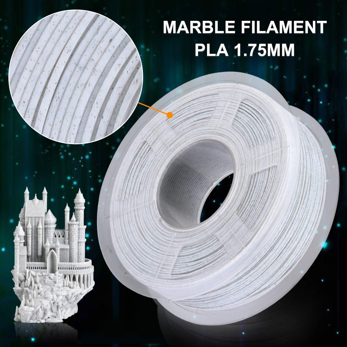 Dimensional Accuracy +//- 0.02 mm SUNLU Carbon Fiber PLA filament 1kg 1.75mm 3D Printer Filament 1.75 mm Carbon Fiber Black 1kg Spool