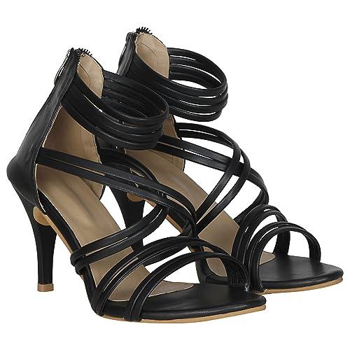 10b465008c2 MISTO VAGON Women and Girls HIGH Heels Sandals Sandals HIGH Heels Slippers HIGH  Heels Formal Sandals