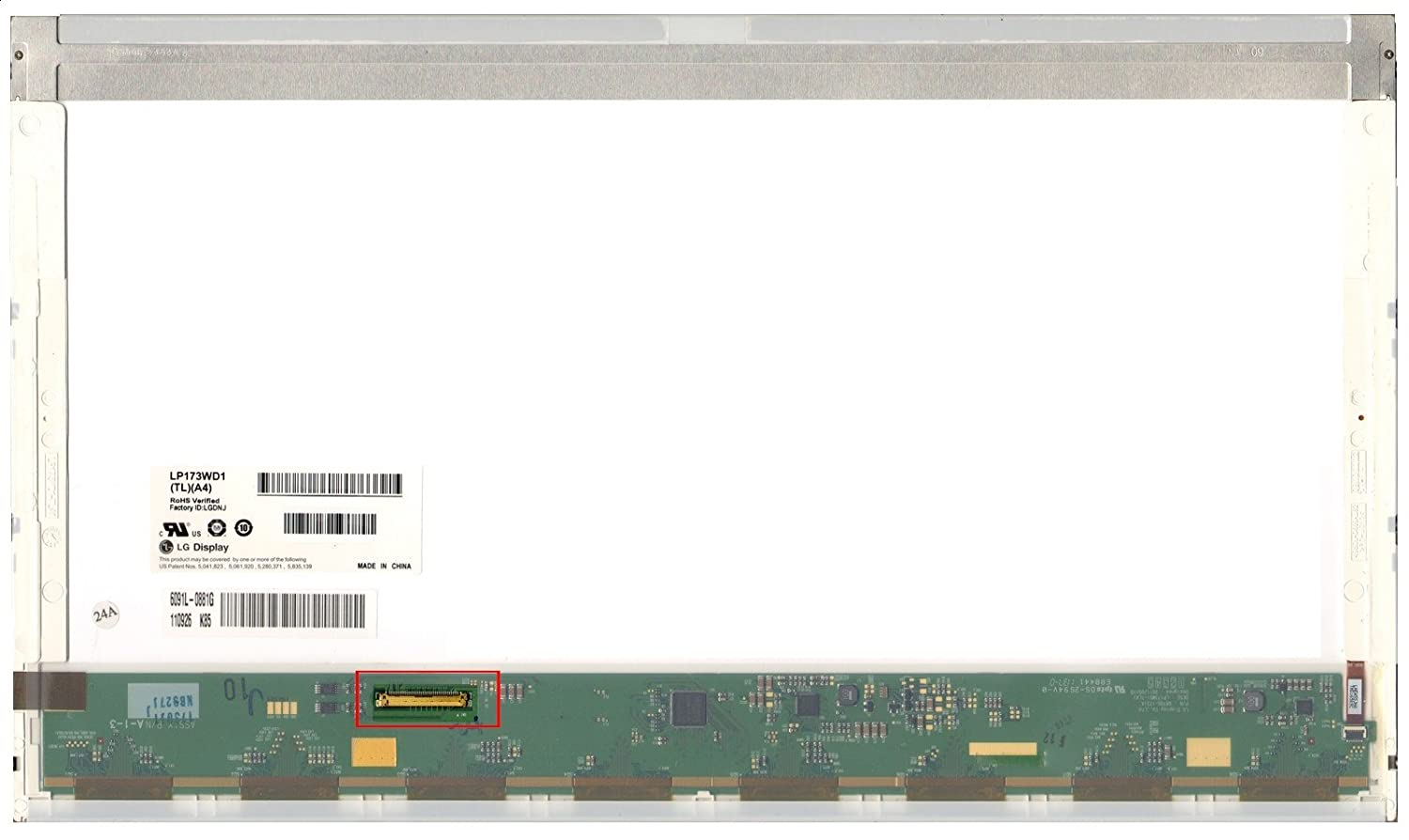 Toshiba Satellite C675d-s7109 Replacement LAPTOP LCD Screen 17.3' WXGA++ LED DIODE (Substitute Only. Not a laptop )