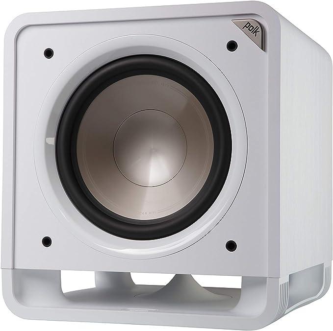 Polk Audio Hts 12 Aktivsubwoofer Für Heimkino Soundsysteme Und Musik 12 Bass Box 400 Watt Weiß Audio Hifi