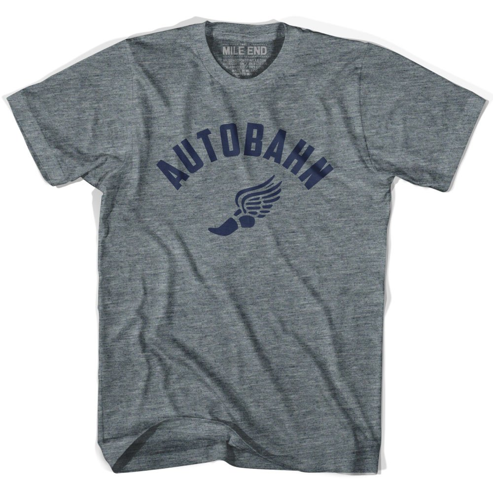 XX-Large Athletic Grey Mile End Sportswear Autobahn Track T-Shirt
