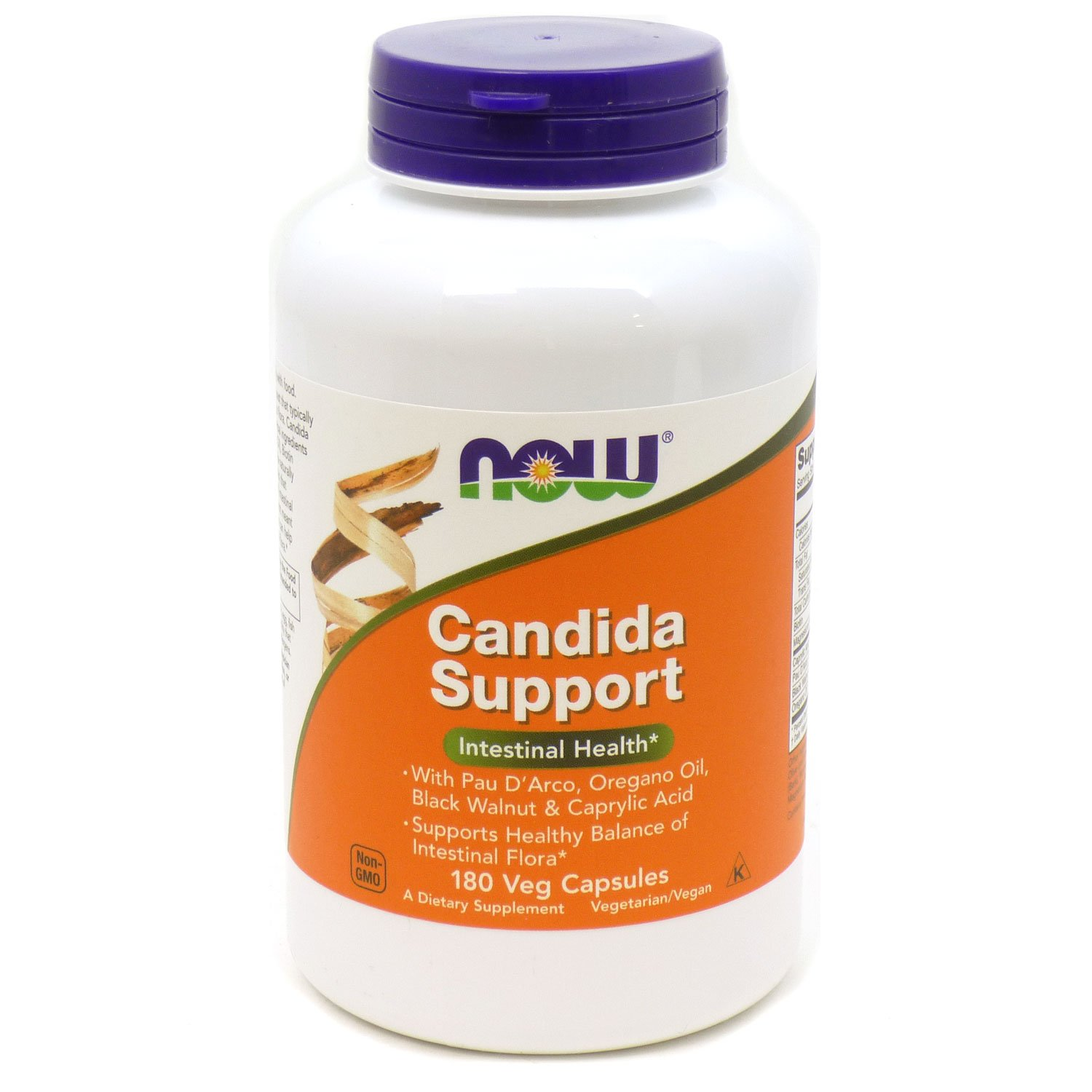 NOW Candida Support 180 Capsules Image 1