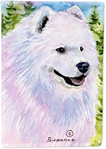 Caroline's Treasures SS8755GF Samoyed Flag Garden Size, Small, Multicolor