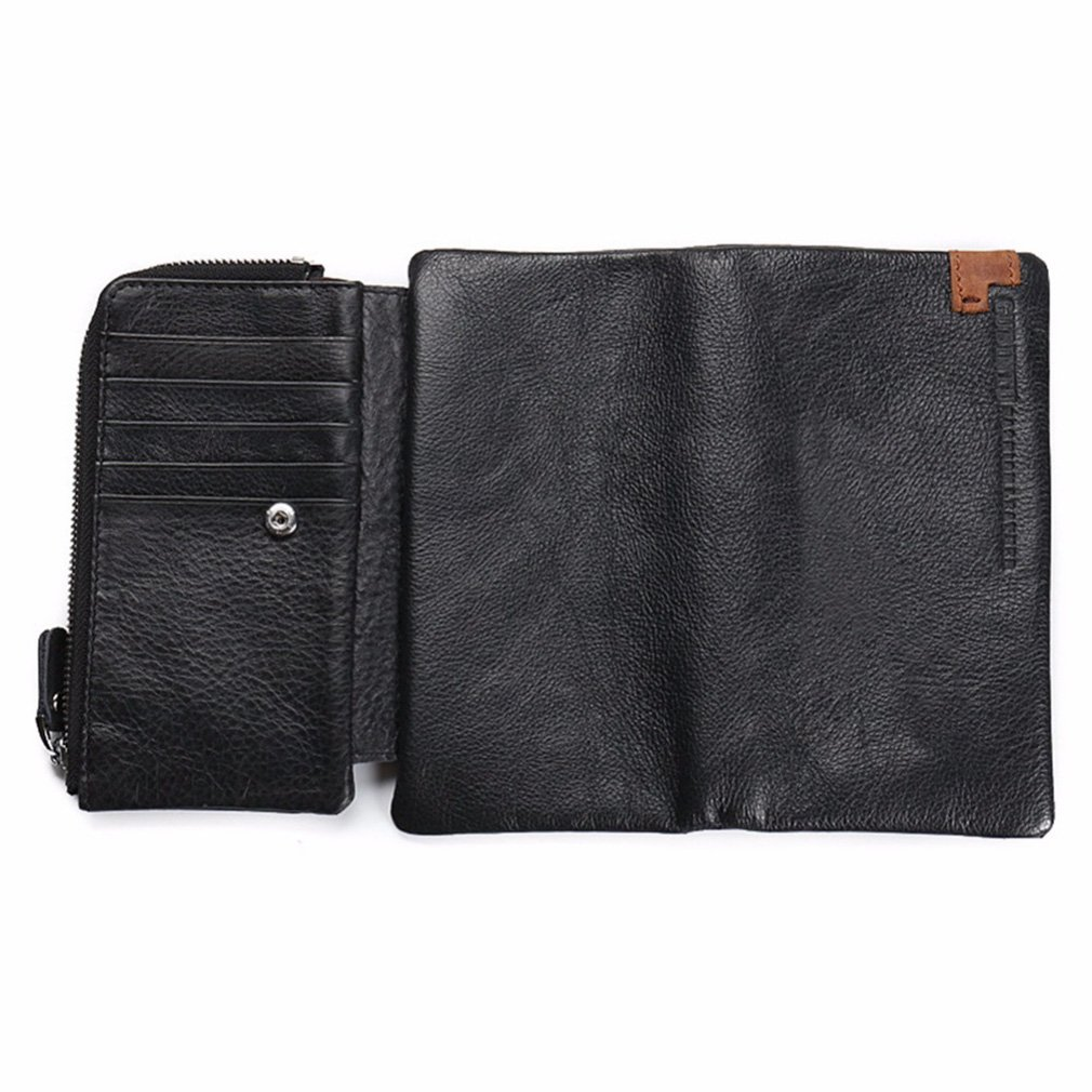 Men Wallets European&American Style Wallets Leather Male Purse Card Holder portfolio cartera at Amazon Mens Clothing store: