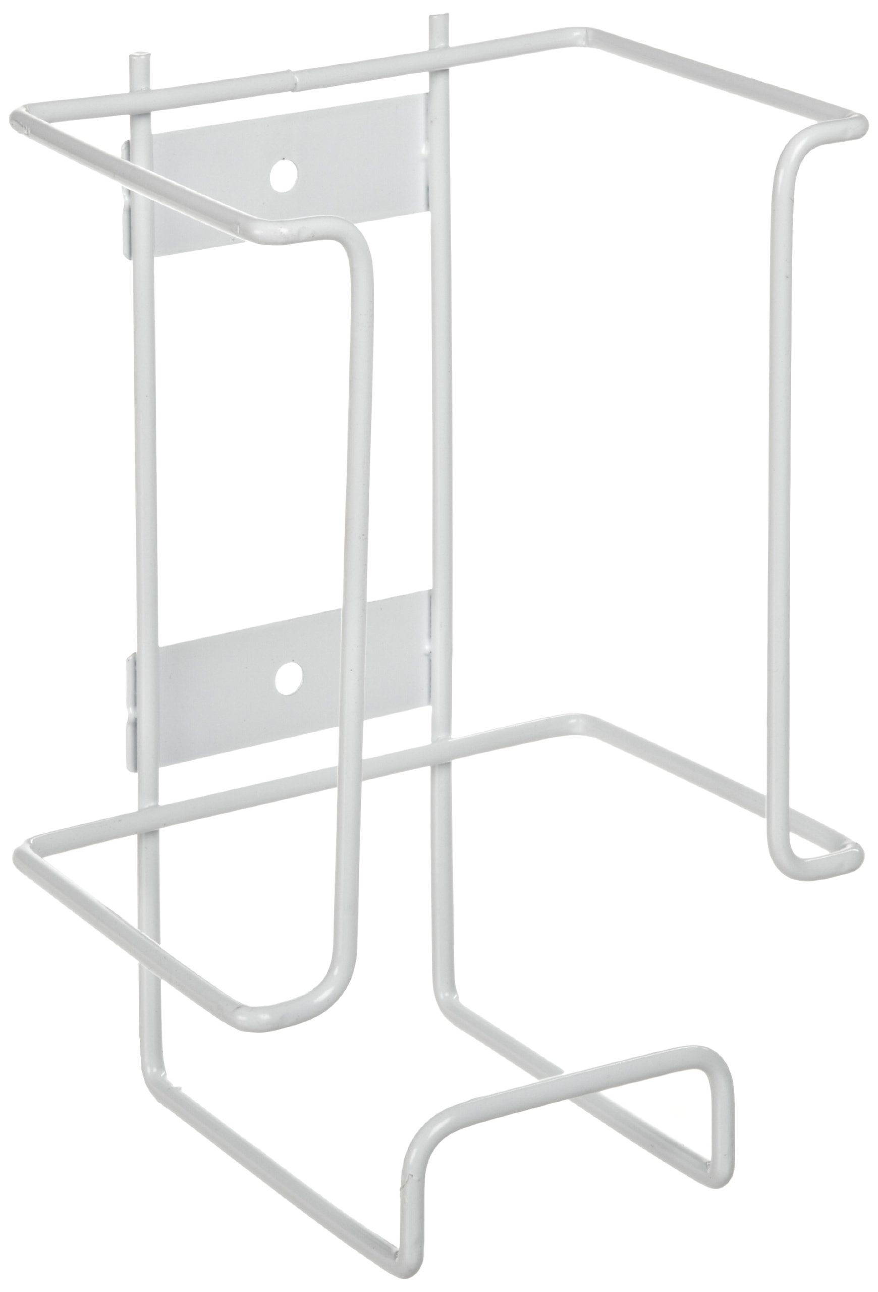 Heathrow Scientific Steel Wire Disposable Glove Box Holder, 1 Box Capacity, 140mm Width x 208mm Height x 108mm Depth (Pack of 1)