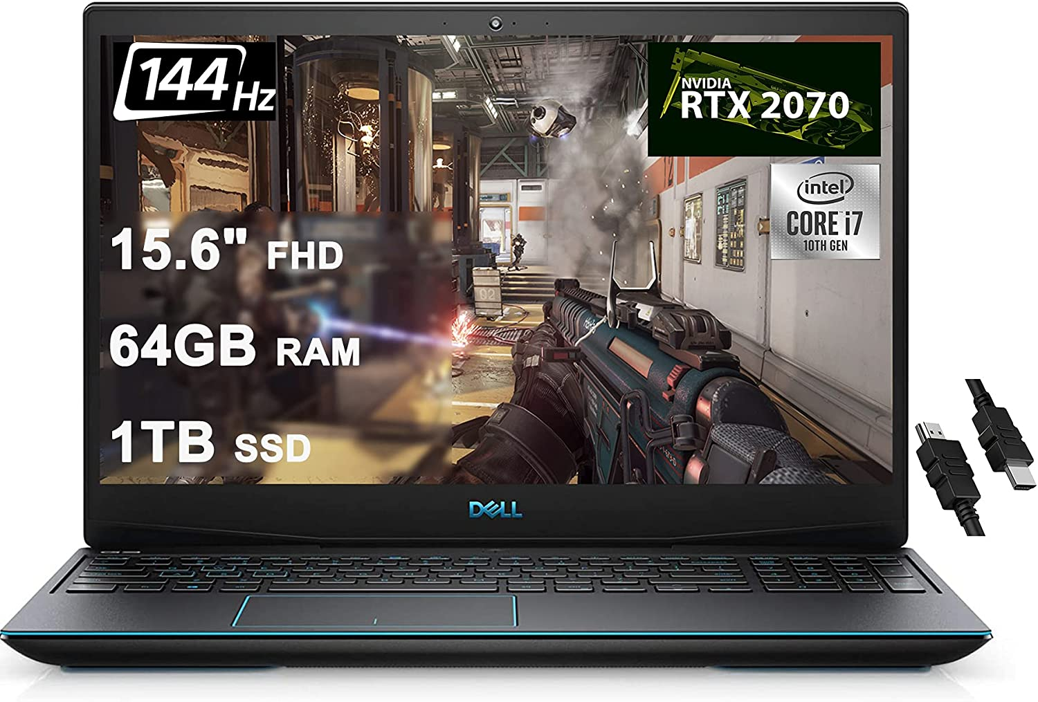 Dell 2020 Flagship G5 15 Gaming Laptop 15.6