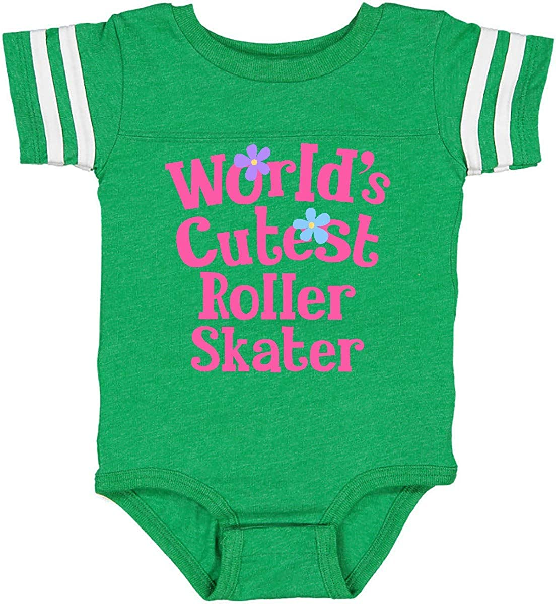inktastic Roller Skater Worlds Cutest Infant Creeper