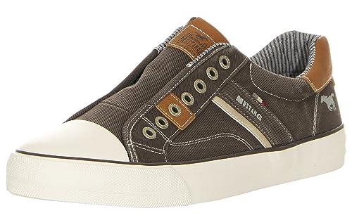 Mustang 4127-401-20, Zapatillas sin Cordones para Hombre: Amazon.es: Zapatos y complementos