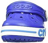 Crocs Kids Bayaband Clog, Cerulean Blue, 6 M US