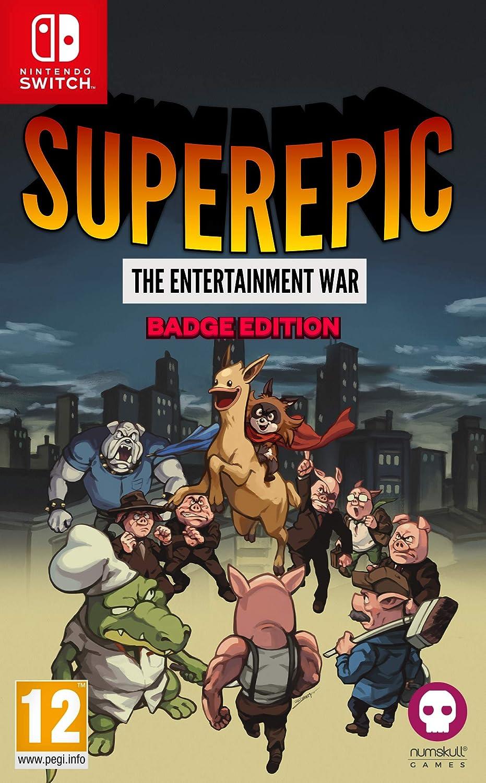 SuperEpic: The Entertainment War Collectors Edition - Nintendo Switch [Importación inglesa]: Amazon.es: Videojuegos