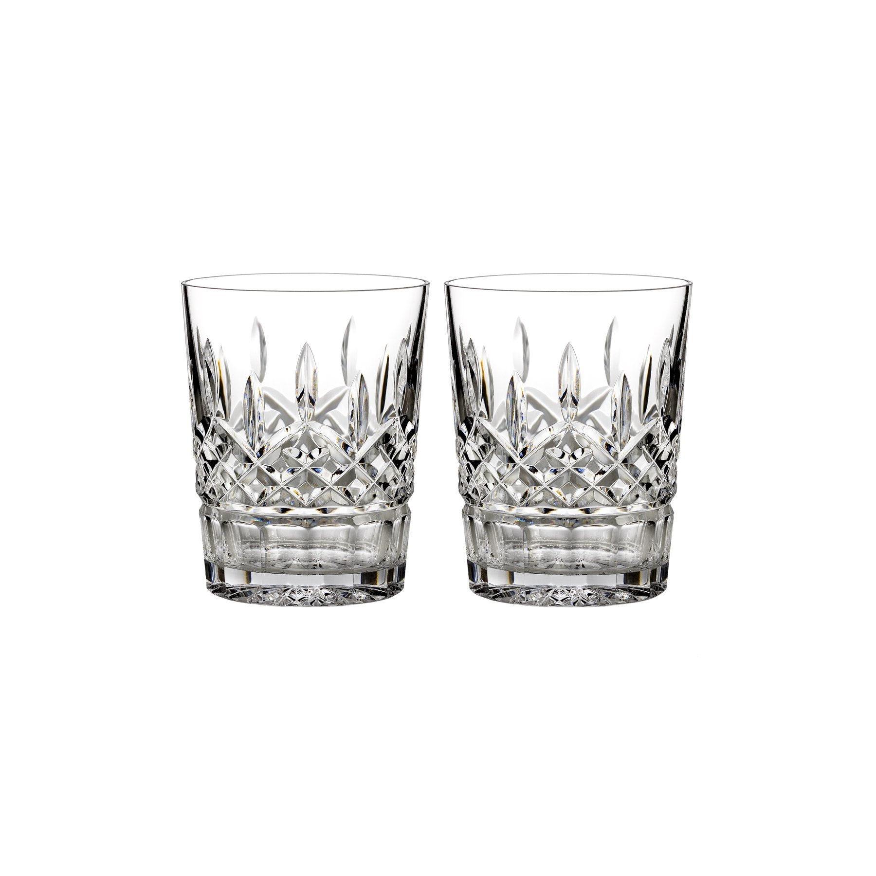 Waterford Lismore 12 oz Double Old Fashioned, Set of 2 by Waterford  Crystal