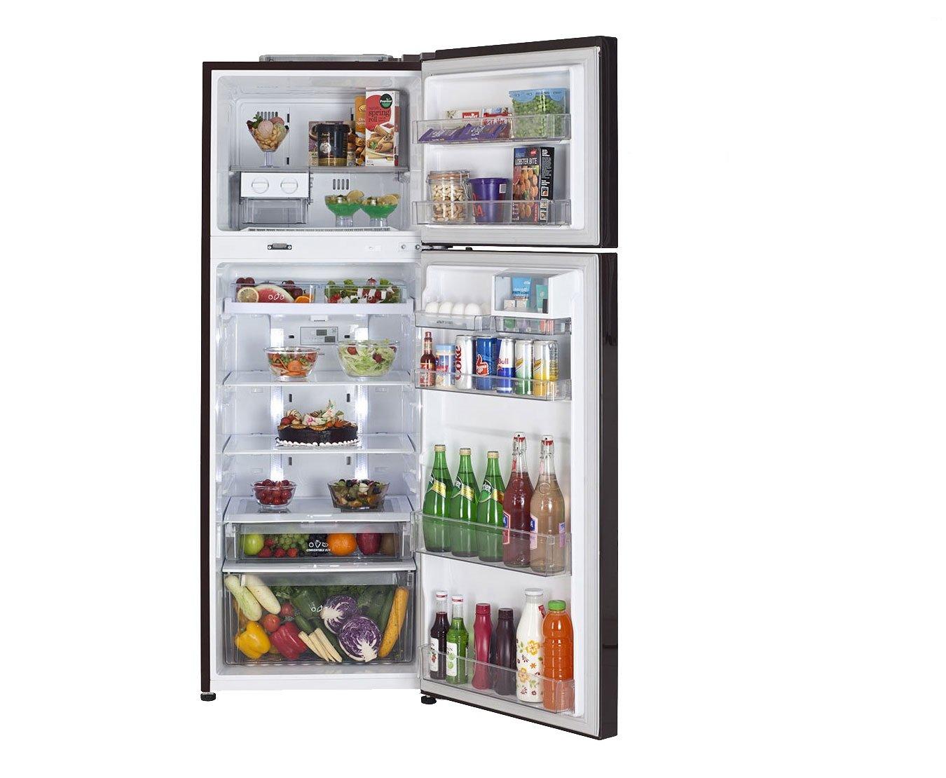 LG 335 L 4 Star Frost Free Double Door Refrigerator (GL U372JHSL, Hazel  Spring): Amazon.in: Home U0026 Kitchen