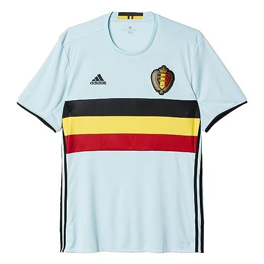 6587f1a2362 Amazon.com : adidas Belgium 2015/2016 Away Jersey (Small) : Sports ...
