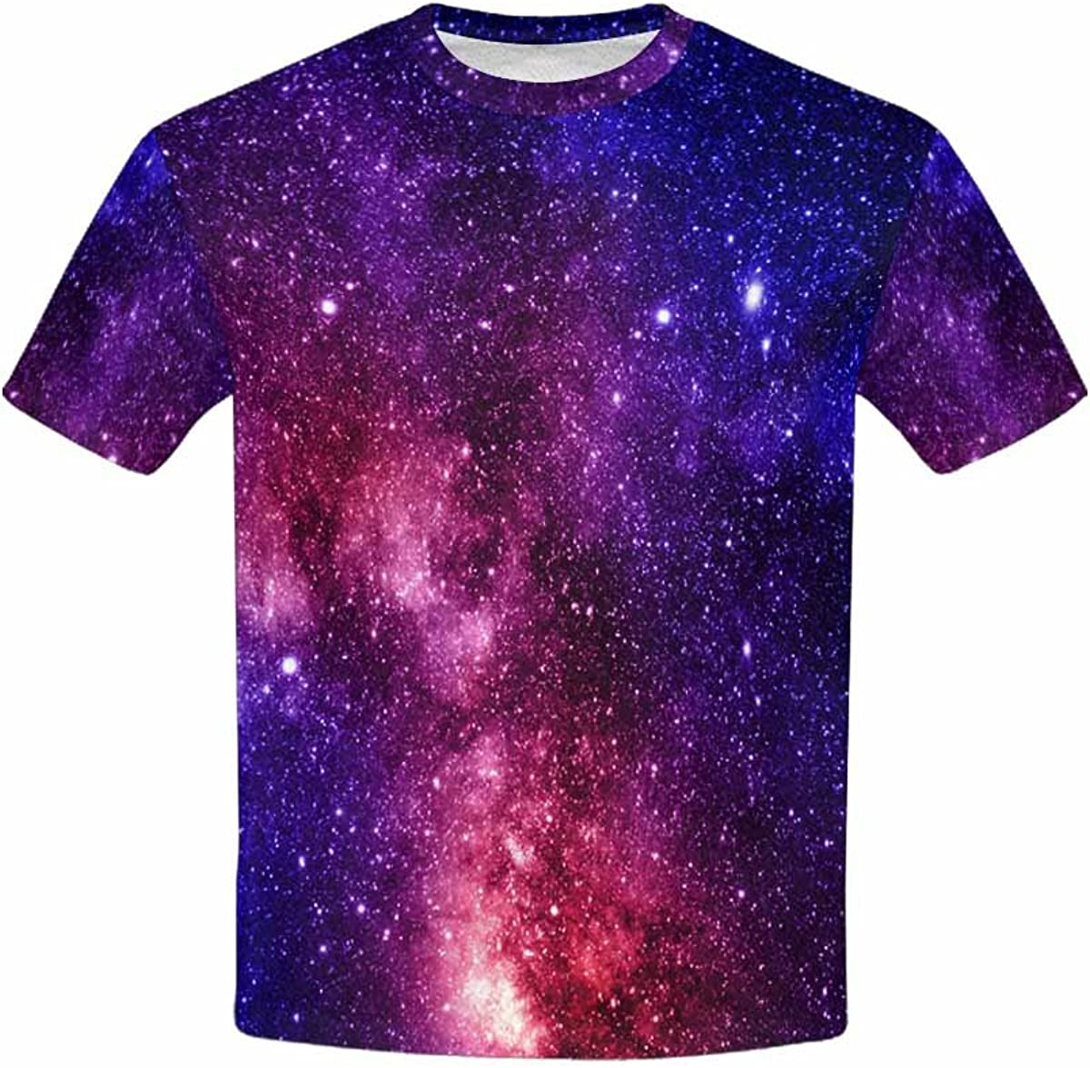 INTERESTPRINT Youth T-Shirts Galaxy in Space XS-XL