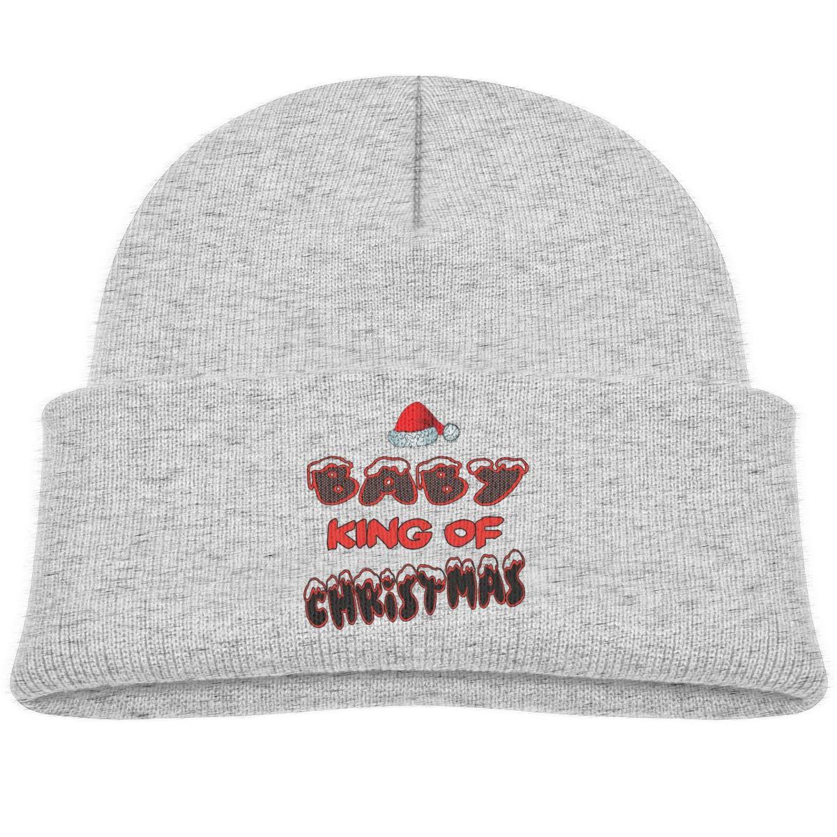 Baby King of Christmas Infant Skull Hats Baby Beanie Cap