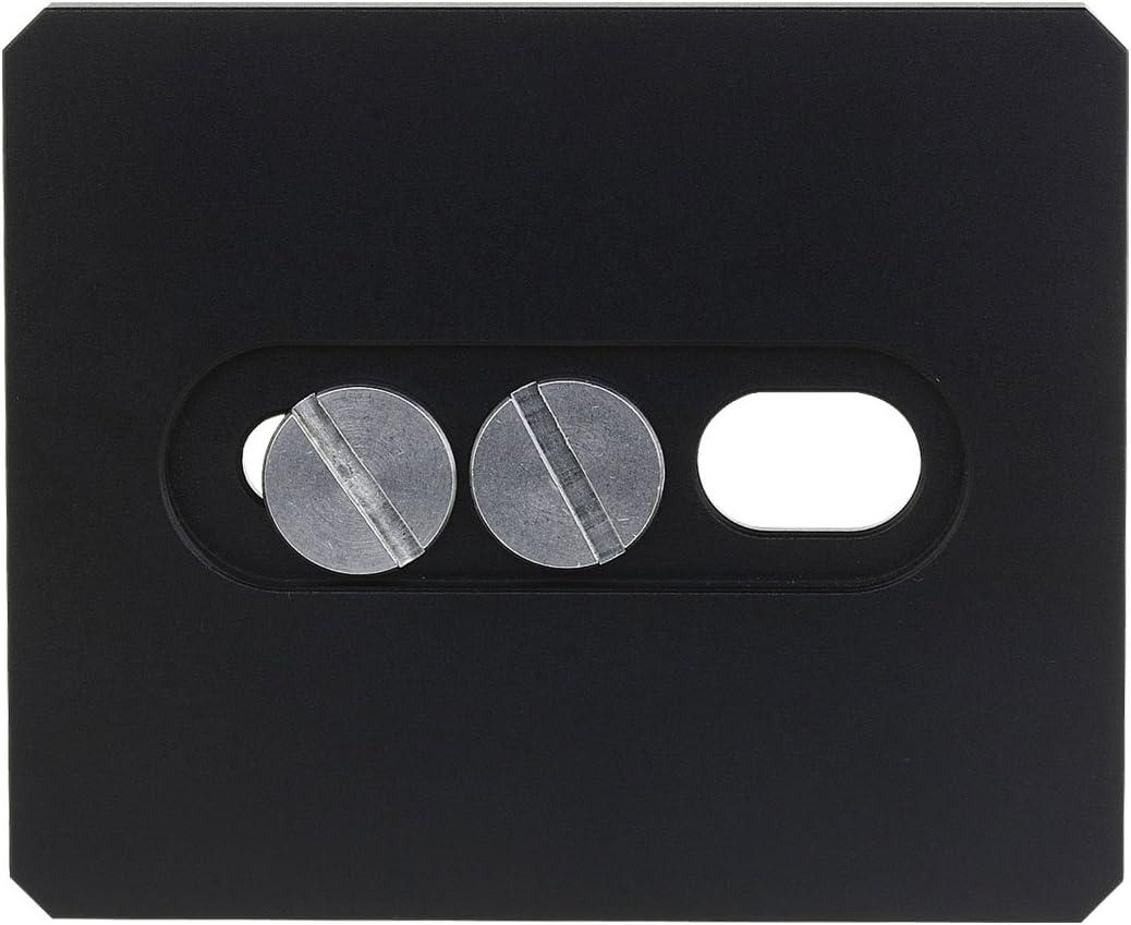 Extensor de Placa de liberaci/ón r/ápida Multiusos para tr/ípode de c/ámara Haoge HQR-220 220 mm