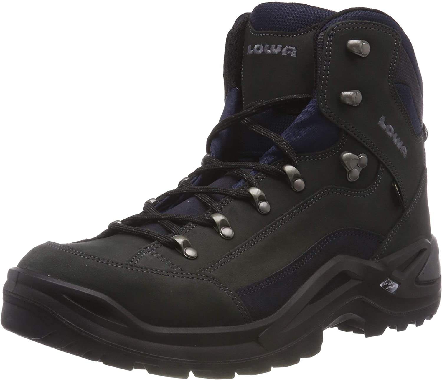 Lowa Men s Renegade GTX Mid Hiking Boot,Dark Grey Navy,12 M US