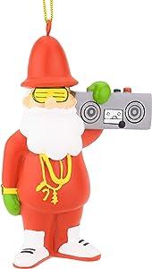Tree Buddees Retro 80's Hip Hop Santa Christmas Ornaments