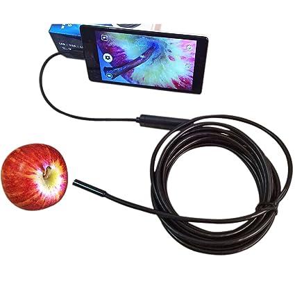 Werkzeuge 7mm 2 M Endoskop 2 M 6led Endoskop Kamera Android Wasserdichte Pipeline Pcb Pc Inspektion Mini Kamera